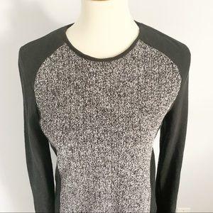 Lou & Grey Dresses - Lou & Grey Casual Tweed Panel Sweater Dress